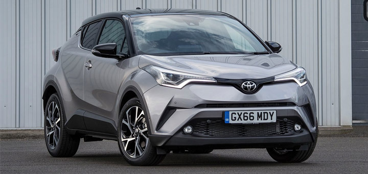 2017 model Toyota C-HR